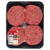 Member's Mark 90% Lean Ground Beef Patties (8 patties, priced per pound)