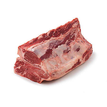 Member's Mark USDA Choice Angus Whole Beef Short Loin, Bone-in, Cryovac (priced per pound)