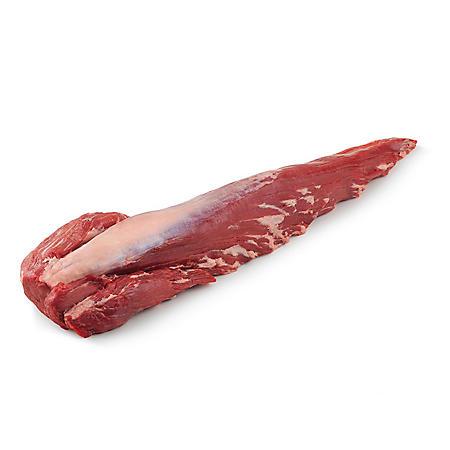 Member's Mark USDA Choice Angus Whole Beef Tenderloins, Cryovac (priced per pound)