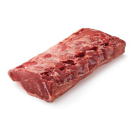 Member's Mark USDA Choice Angus Whole Beef Strip Loin, Cryovac (priced per pound)