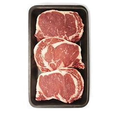 USDA Choice Angus Beef Ribeye Steak (priced per pound)