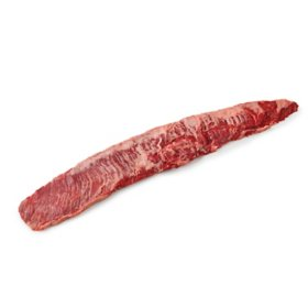 Member's Mark USDA Choice Angus Beef Inside Skirts, Cryovac (piece count varies by bag, priced per pound)