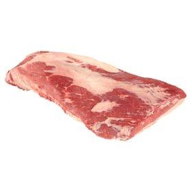 USDA Choice Angus Beef Whole Brisket Cryovac (priced per pound)