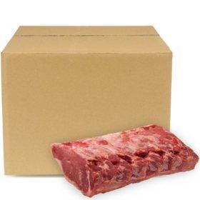 USDA Choice Angus Beef Whole Strip Loin, Bulk Wholesale Case (5-6 pieces per case, priced per pound)