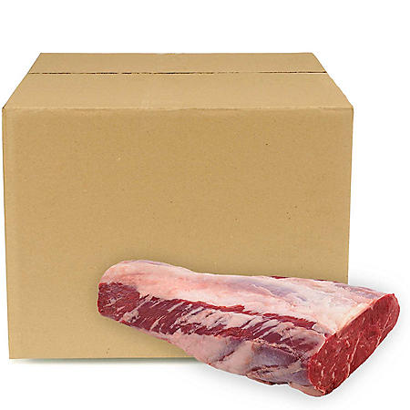 USDA Choice Angus Beef Whole Boneless Ribeye, Bulk Wholesale Case (5 pieces per case, priced per pound)
