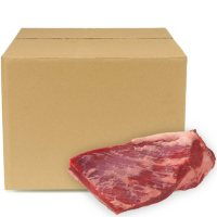 USDA Choice Angus Beef Whole Brisket, Bulk Wholesale Case (5-7 pieces per case, priced per pound)