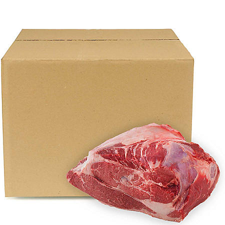 USDA Choice Angus Beef PLD Top Sirloin Butt, Bulk Wholesale Case (9 pieces per case, priced per pound)