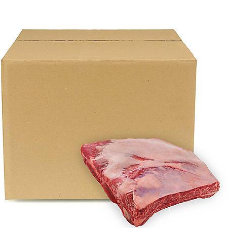USDA Choice Angus Beef Short Ribs, Bulk Wholesale Case (3-4 pieces per case, priced per pound)