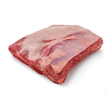 Member's Mark USDA Choice Angus Whole Beef Short Ribs, Bone-in, Cryovac (priced per pound, 2 per bag)