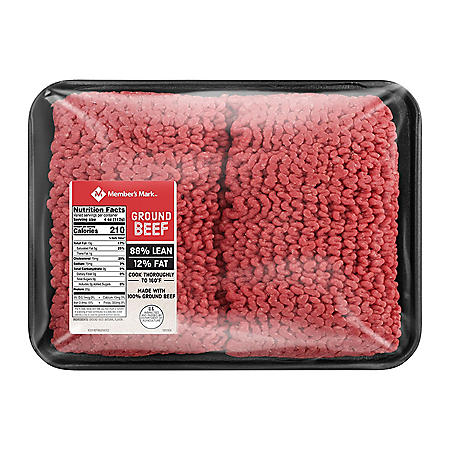 90% Lean / 10% Fat, Ground Beef (priced per pound)