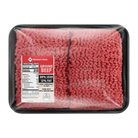 Member's Mark 90% Lean / 10% Fat Ground Beef (priced per pound)