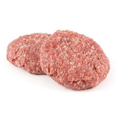 Member's Mark 80/20 Lean Ground Beef Patties (priced per pound) - 4-7lbs
