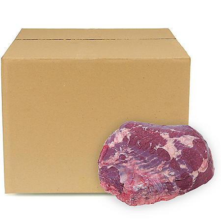 USDA Choice Angus Beef Denuded Inside Round, Bulk Wholesale Case (priced per pound)