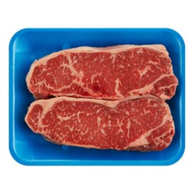 Member?s Mark USDA Prime Angus Beef Strip Steak (priced per pound)