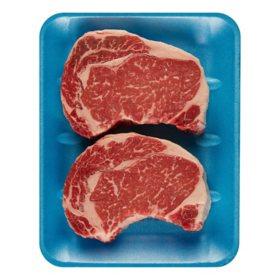 USDA Prime Ribeye Steak (priced per pound)