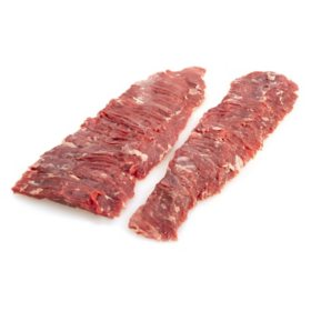 Member's Mark USDA Select Angus Beef Inside Skirt, 2 pieces (priced per pound)