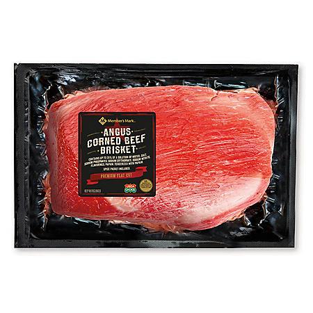 Member's Mark Corned Beef Brisket (priced per pound)