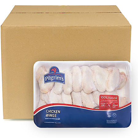 Pilgrim's Pride Chicken Wings, Bulk Wholesale Case (priced per pound)