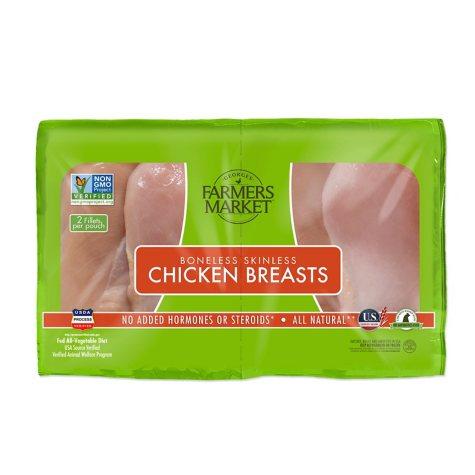 ABF- Boneless Skinless Breast - 1 lb.