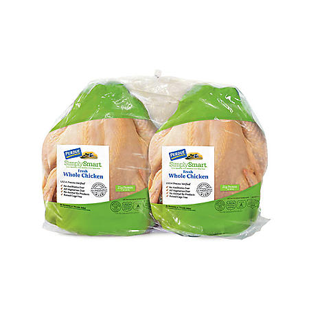 Perdue Simply Smart Whole Chicken Twin Pack (priced per pound)