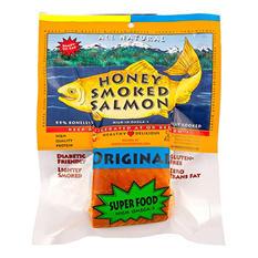 Honey Smoked Salmon, Original Flavor (10-12 oz.)