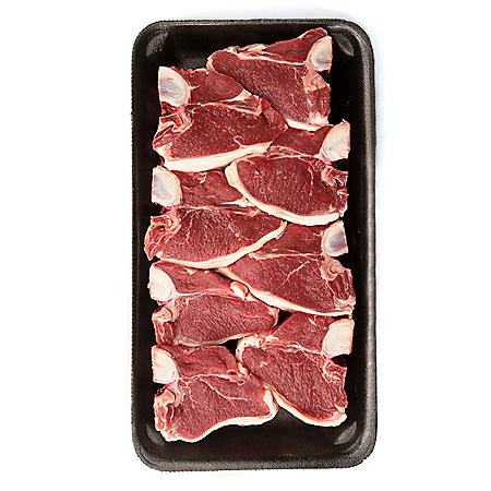 Member's Mark New Zealand Lamb Loin Chops Tray (priced per pound)