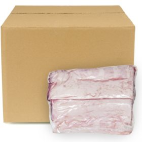 Fresh New Zealand Lamb Whole Lamb Loins, Bulk Wholesale Case (10 pk. of 2 split loins, priced per pound)