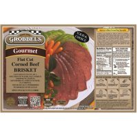 Grobbel's Gourmet Corned Beef Brisket (priced per pound)