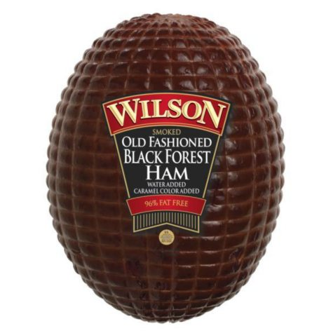 Wilson Smoked Old Fashioned Black Forest Ham (Priced Per Pound)