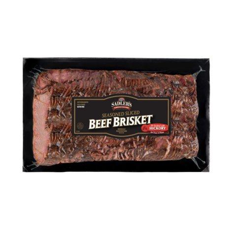 Sadler's Smokehouse Sliced Whole Brisket (Priced Per Pound)