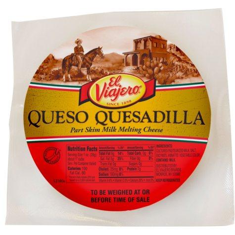 El Viajero Quesadilla Cheese (priced per pound)