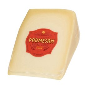 Member's Mark Parmesan Cheese Wedge (Priced Per Pound)