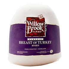 Willow Brook Farms Classic Breast of Turkey (priced per pound)