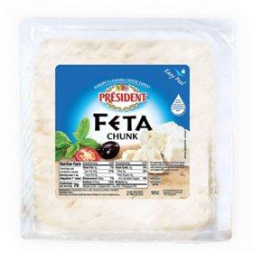 President Feta Chunk (priced per pound)