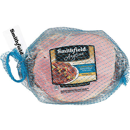 Smithfield Center Cut Hardwood Smoked Ham Steaks 3-Pack (priced per pound)