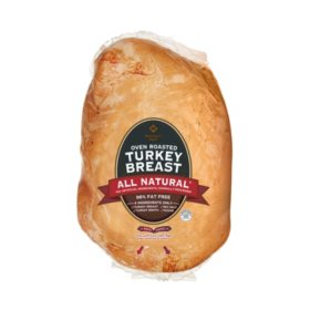 Member's Mark Oven Roasted Turkey Breast, Cooked (priced per pound)