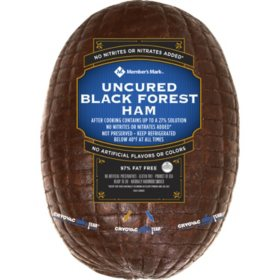 Member's Mark Fully Cooked Uncured Black Forest Ham (priced per pound)