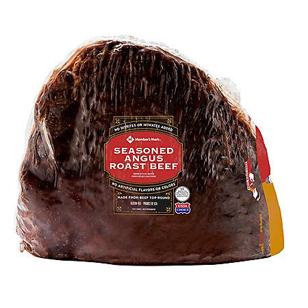Member's Mark Seasoned Angus Roast Beef (priced per pound)