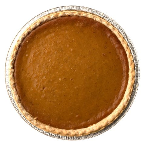 "Daily Chef 12"" Pumpkin Pie (60 oz., 1 ct.)"