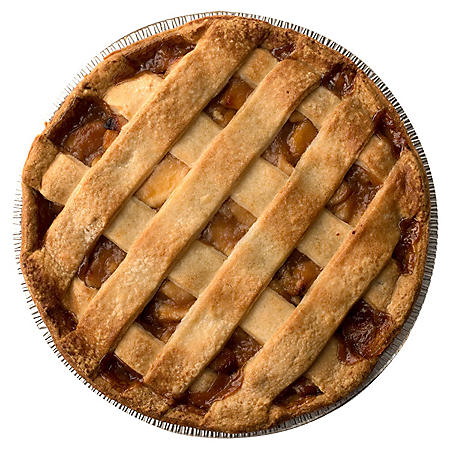 Artisan Fresh Apple Lattice Pie - 8 Pies per case - 12""