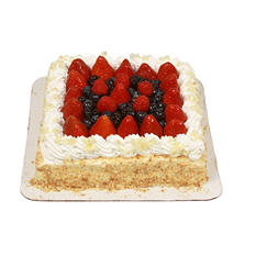 Member's Mark Single Layer Fresh Strawberry Cake
