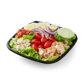 Member's Mark Cobb Salad with Chicken and Avocado Ranch Dressing (single serving)