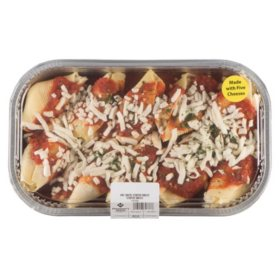 Member's Mark Five Cheese Stuffed Shells and Marinara Sauce (Priced Per Pound)