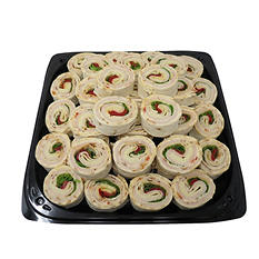 Sundried Tomato and Buffalo Chicken Wrap Party Tray (40 wraps)