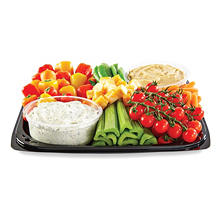 Vegetable Party Tray With Dip