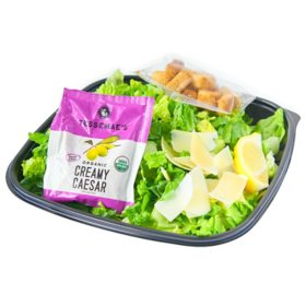 Member's Mark Caesar Salad With Dressing and Lemon (single serving)