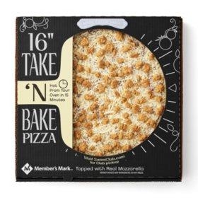 """Member's Mark 16"""" Take & Bake Sausage Pizza"""