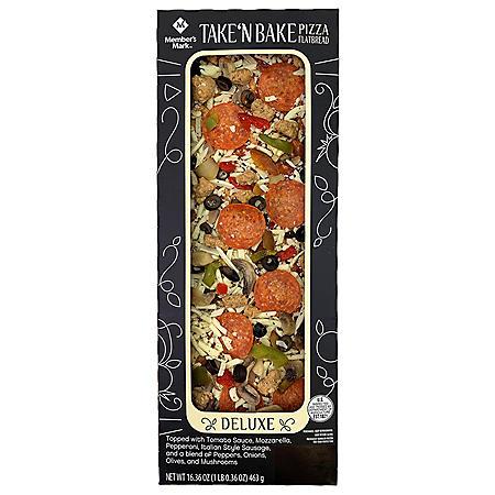 Member's Mark Take 'N Bake Deluxe Flatbread Pizza (16.36 oz.)