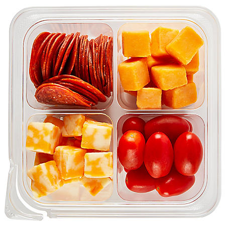 Member's Mark Meat, Cheese and Tomato Snack Tray (approx. 9.3 oz.)