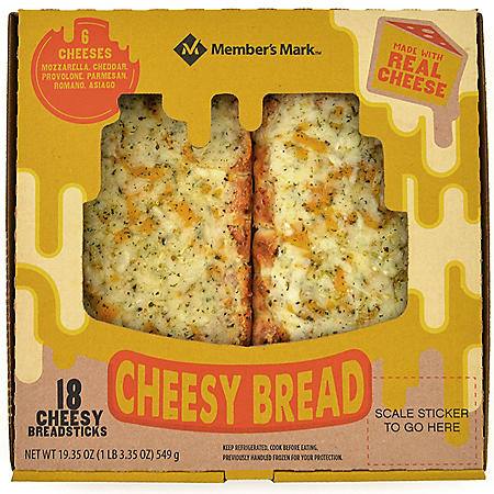 Member's Mark Take 'N Bake Cheesy Breadsticks (18 ct.)